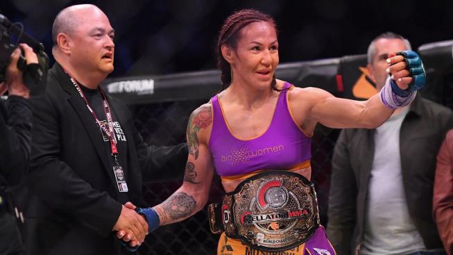 """Brazilská """"Amazonka"""" Cyborg si stojí za tím, že odchod z UFC byla nejlepší věc, jakou mohla udělat"""