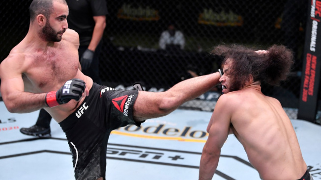 Chikadze letos zvítězil už počtvrté, líbivým TKO upoutal pozornost šéfa UFC a řekl si o top soupeře na prosinec