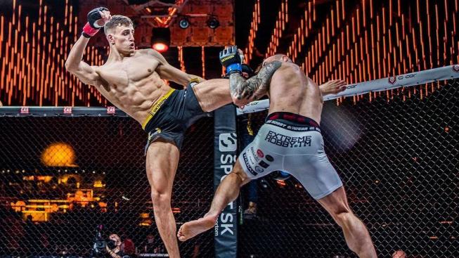Matěj Peňáz se zatím na Vémolu necítí, MMA kariéru chce budovat postupně