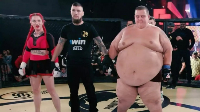 MMA souboj mezi 240 kg mužem a 63 kg ženou. Šílenost, jaká tady už dlouho nebyla, dopadla dost nečekaně