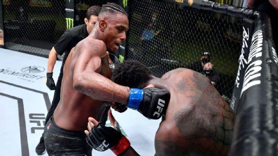 Ovince Saint Preux nesplnil váhu a navíc schytal od neporaženého Jamahala Hilla tvrdé TKO