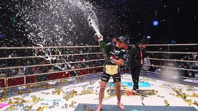 Kyoji Horiguchi oplatil KO svému rivalovi a vrátil se na trůn bantamové váhy Rizin FF