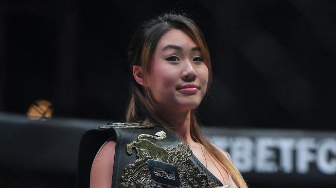 Neznámý vandal zdemoloval šampionce Angele Lee její tělocvičnu mačetou