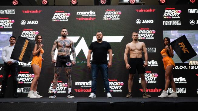 Video: Bombarďák Vlasto Čepo se blýskl na MMA akci v Chorvatsku, soupeře přejel v prvním kole