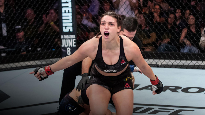 Mackenzie Dern se vyhoupla mezi elitu UFC, na souboj o titul se teď ale ještě necítí