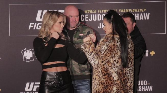 Dvě krásky z UFC si v červenci střihnou odvetu v krvavém boxu bez rukavic