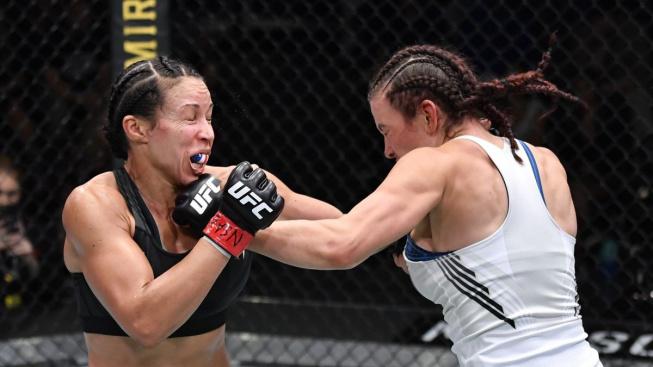 Parádní comeback bývalé královny bantamové váhy UFC, soupeřku utloukla ve třetím kole