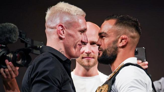 Buchinger vs. Barborík! Oktagon 27 láká na slovenské derby dvou špičkových bojovníků o šampionský pás pérové váhy