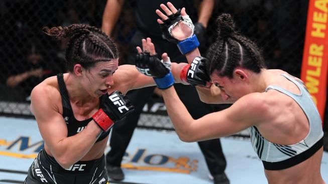 Rodriguez a Dern předvedly parádní bitvu, za kterou obdržely bonus padesát tisíc dolarů